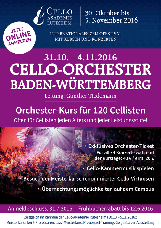 Cello-Orchester Baden-Württemberg